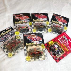Lot of 1:64 Diecast One Signed by Morgan Shepherd